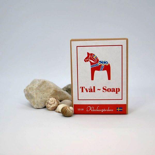 Röd spatvål-Dalahäst
