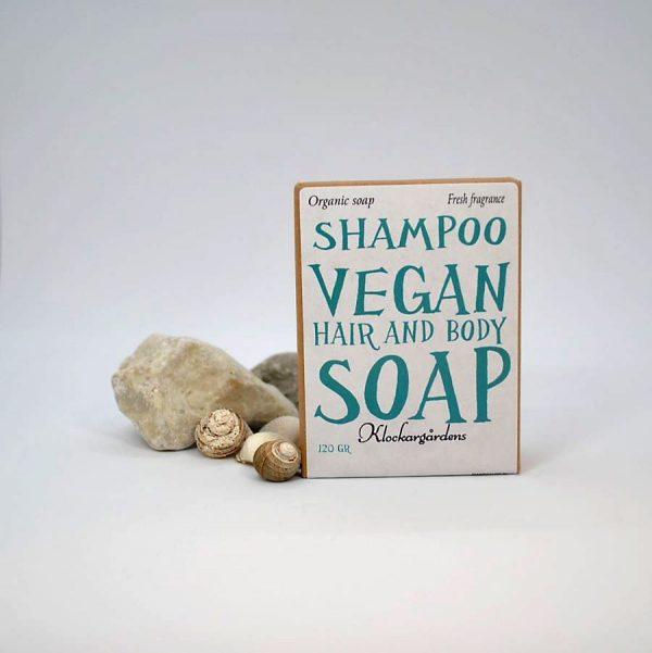 Shampotvål för hela kroppen, vegan